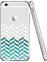 Caso para iphone 7 6 linhas tpu capa de capa de tampa traseira ultra-fina suave iphone 7 mais 6 6s mais se 5s 5 5c 4s 4