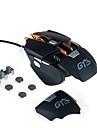 AJAZZ AJAZZ-GTXPRO 유선 게임 마우스 조절 가능한 무게 조정 가능한 DPI 1000/2000/3000/4000