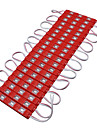 hkv® 3m 13w smd 5630smd 60led led modules ip65 rouge impermeable lampe lampe 5630 qualite publicitaire lumiere dc 12v