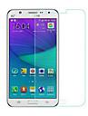화면 보호기 Samsung Galaxy 용 J5 안정된 유리 1개 화면 보호 필름 고해상도 (HD) 9H강화 2.5D커브 엣지