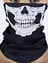 Creative Black Skull Muzzles Halloween For Holiday Decorations