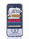 Case For Apple iPhone 7 Plus iPhone 7 IMD Pattern Back Cover Cat Cartoon Soft TPU for iPhone 7 Plus iPhone 7 iPhone 6s Plus iPhone 6s
