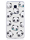 Case For Samsung Galaxy A3 (2017) A5 (2017) Case Cover Panda Pattern Painted High Penetration TPU Material IMD Process Soft Case Phone Case A3 (2016)