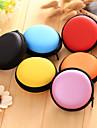 1 шт. Цветной круглый наушник для хранения молнии
