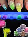 Meninas e Jovens Mulheres Efeito 3D Flash Artigos DIY Po Descanso para Maos para Manicure