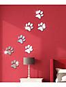 3D Abstrait Stickers muraux Autocollants muraux 3D Miroirs Muraux Autocollants Autocollants muraux decoratifs,Acrylique Decoration