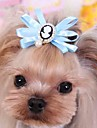 Cat / Dog Hair Accessories / Hair Bow Red / Blue / Pink Dog Clothes Spring/Fall Wedding / Cosplay