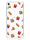 Case For Sony X XA Case Cover Hamburgers Pattern High Penetration TPU Material Scratch Phone Case For Sony E5