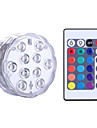 YWXLIGHT® 1 pezzo Night Light LED RGB Batteria Oscurabile Impermeabile Senza fili Colore variabile Decorativo