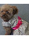 Σκύλος Φορέματα Ρούχα για σκύλους Ριγέ Πολυεστέρας Στολές Για Άνοιξη & Χειμώνας Καλοκαίρι Γυναικεία Καθημερινά