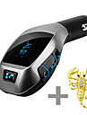X5 Car Bluetooth Kit Wireless Fm Transmitter Radio Adapter FM Modulator Handsfree Music Mp3 USB Player Audio For Smartphone