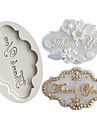 Outils de cuisson Caoutchouc silicone / Le Gel de Silice / Silicone Papier a cuire / Ustensile de Cuisine / 3D Petit gateau / Chocolat / Pour Ustensiles de cuisine Moules a gateaux 1pc