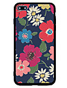 For iPhone 7 iPhone 7 Plus Case Cover Frosted Pattern Back Cover Case Flower Hard Acrylic for Apple iPhone 7 Plus iPhone 7 iPhone 6s Plus