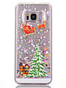 Case for Samsung Galaxy S8 Plus S8 Flowing Liquid Pattern Back Cover Tree Hard PC
