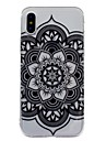 Para iPhone X iPhone 8 Plus Case Tampa IMD Estampada Capa Traseira Capinha Mandala Lace Impressao Macia PUT para Apple iPhone X iPhone 8