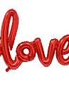 nagy méretű szerelmes levelek fólia ballon romantikus mylar szép léggömbök
