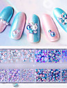 1box Glitter Powder Nail Jewelry Pearls Professional / Lovely nail art Manicure Pedicure Daily / Party & Evening Fashionable Jewelry / Luxury / Accessories