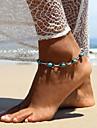 Žene Tirkiz Tirkiz Boemski stil Kratka čarapa Jewelry Pink Za Kauzalni Izlasci
