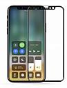 화면 보호기 용 Apple iPhone X 안정된 유리 1개 화면 보호 필름 고해상도 (HD) / 9H강화 / 지문 방지