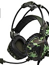 A931 Over Ear Headband Wired Headphones Dynamic Plastic Gaming Earphone with Microphone with Volume Control Headset