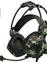 A931 귀 이상 / 머리띠 유선 헤드폰 동적 플라스틱 게임 이어폰 볼륨 컨트롤 / 마이크 포함 헤드폰