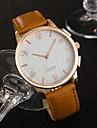 YAZOLE Муж. Модные часы Наручные часы Уникальный творческий часы Кварцевый PU Группа Cool Повседневная Люкс Элегантные часы минималист