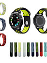 Watch Band for Gear S3 Frontier Gear S3 Classic Samsung Galaxy Sport Band Silicone Wrist Strap