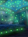 Romantika Tvary Samolepky na zeď Světelné samolepky na zeď Ozdobné samolepky na zeď, Plastický Home dekorace Lepicí obraz na stěnu Okenní