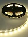 tira conduzida 5630 luz conduzida flexivel 60 led / m 5m quente branco / branco / branco frio ip20 nao impermeavel dc12v