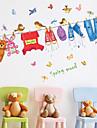 Мода Наклейки Простые наклейки Декоративные наклейки на стены материал Украшение дома Наклейка на стену