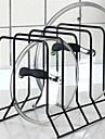 4 слоя железо кухня хранения горшок держатель держателя