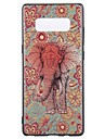 Case For Samsung Galaxy Note 8 Pattern Back Cover Elephant Soft TPU for Note 8 Note 5 Edge Note 5 Note 4 Note 3 Lite Note 3 Note 2 Note