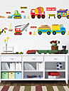 Transportation Wall Stickers Plane Wall Stickers Decorative Wall Stickers, Plastic Home Decoration Wall Decal Wall