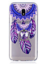 Case For Samsung Galaxy J7 (2017) J3 (2017) Ring Holder Transparent Pattern Back Cover Dream Catcher Soft TPU for J7 (2017) J7 (2016) J5