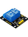 keyestudio arduino arm pic avr dsp electronic 용 2 채널 5v 릴레이 모듈