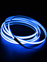 BRELONG® 2m 0 LEDs EL White / Red / Blue Waterproof / Self-adhesive <5 V