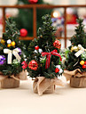 3pcs Natal Arvores de Natal, Decoracoes de ferias 0.45