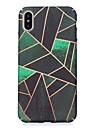 Case For Apple iPhone X iPhone 8 Glow in the Dark Pattern Embossed Back Cover Geometric Pattern Hard PC for iPhone X iPhone 8 Plus iPhone
