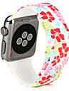 시계 밴드 용 Apple Watch Series 3 / 2 / 1 Apple 스포츠 밴드 실리콘 손목 스트랩