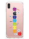 Coque Pour Apple iPhone X iPhone 8 iPhone 6 iPhone 7 Plus iPhone 7 Motif Coque Jeux Avec Logo Apple Flexible TPU pour iPhone X iPhone 8