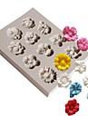 Bakeware araçları Silikon Kauçuk / Silika Jel Yapışmaz / Pişirme Aracı / 3D Kurabiye / Çikolota / Pişirme Kaplar İçin Pasta Kalıpları 1pc