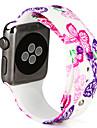 Pulseiras de Relogio para Apple Watch Series 3 / 2 / 1 Apple Pulseira Esportiva Silicone Tira de Pulso