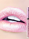 6Colors Makeup Metallic Waterproof Diamond Shine Lipstick Lip Gloss Cosmetics