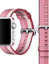 Pulseiras de Relogio para Apple Watch Series 4/3/2/1 Apple Fecho Classico Nailon Tira de Pulso