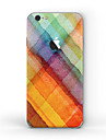 1 pc Skin Sticker for Scratch Proof Oil Painting Pattern Matte PVC iPhone 6s/6