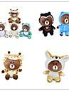 Urso Animal Stuffed Toys Criancas Ferias Animais Casual