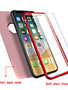 Case For Apple iPhone X iPhone 8 Ultra-thin Full Body Cases Solid Color Soft TPU for iPhone X iPhone 8 Plus iPhone 8 iPhone 7 Plus iPhone