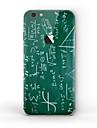 1개 스킨 스티커 용 스크래치 방지 무광 패턴 PVC iPhone 6s Plus/6 Plus