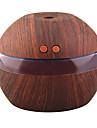 yk30s mini draagbare mist maker aroma etherische olie diffuser ultrasone aroma luchtbevochtiger licht houten usb diffuser