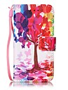 Case For iTouch 5/6 Wallet Card Holder with Stand Pattern Auto Sleep/Wake Up Full Body Cases Hard